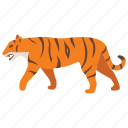 animal, big, cat, tiger, tigress, wild, zoo icon