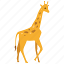 africa, animal, giraffe, safari, savanna, wild, zoo icon