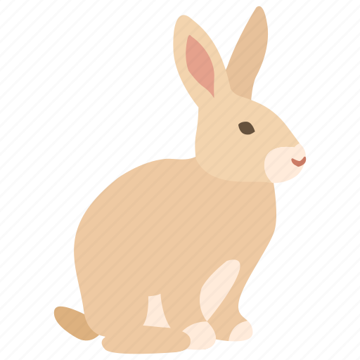 bunny, chocolate, easter, hare, meat, pet, rabbit icon