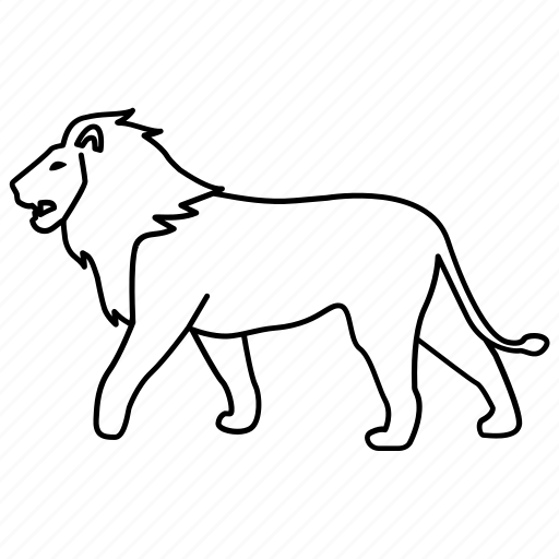 Africa Animal Cat Lion Male Pride Icon Download On Iconfinder Lion outline tribal embroidery design in 3x3 4x4 and 5x7 sizes this is hand digitized machine embroidery design. africa animal cat lion male pride icon download on iconfinder
