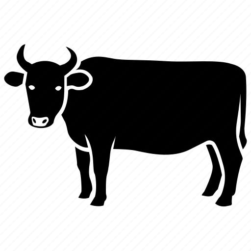 Beef, bull, cow, dairy, farm, ox, steer icon | Icon search ...