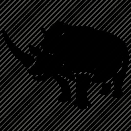 africa, endangered, poaching, protection, rhino, rhinoceros, wild icon