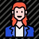 avatar, casual, hair, long, man, men, profile