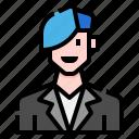 avatar, casual, handsome, man, men, people, quiff icon