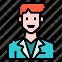 avatar, casual, man, men, profile, suit, user