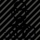 avatar, beard, man, men, profile, skinhead, user icon