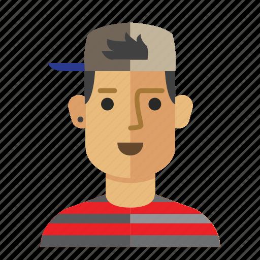 avatar, casual, man, service, staff, work icon