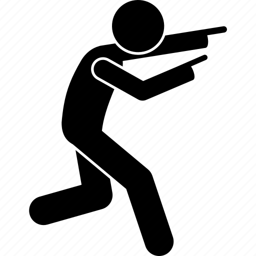 finger, man, person, pointing, run, running icon