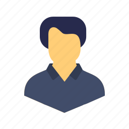 account, avatar, human, man, people, person, profile icon