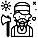 avatar, hire, job, lumberjack2 icon