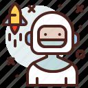 austronaut, avatar, hire, job
