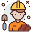 avatar, contractor, hire, job icon