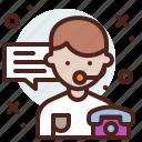 avatar, customer, hire, job, service icon