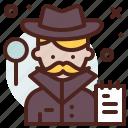 avatar, detective, hire, job