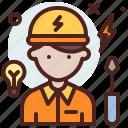 avatar, electrician, hire, job