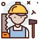 avatar, hire, job, lumberjack