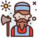 avatar, hire, job, lumberjack2 icon