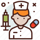 avatar, hire, job, pharmacist icon