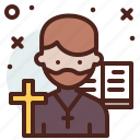 avatar, hire, job, priest icon