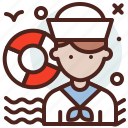 avatar, hire, job, sailor icon