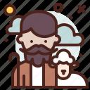 avatar, hire, job, shepherd icon