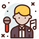 avatar, hire, job, singer icon