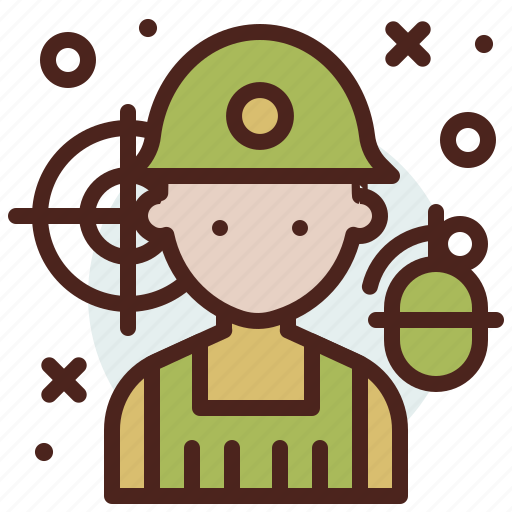 avatar, hire, job, soldier icon