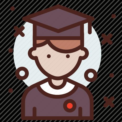 avatar, hire, job, student icon