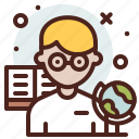 avatar, hire, job, teacher icon