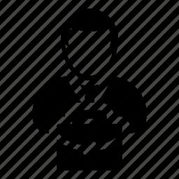 avatar, briefcase, business, businessman, finance, man, person icon