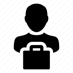avatar, bag, business, finance, man, person, shopping icon