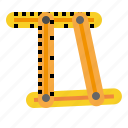measure, measurement, measuring, scale, weight icon