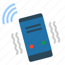 cellphone, communication, mobile, phone, ringing, smartphone, telephone icon