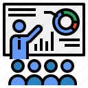 business, financial, man, presentation, statistics, stats
