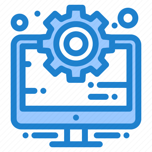 business, computer, management, setting icon