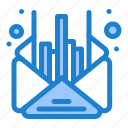 business, mail, management, message icon