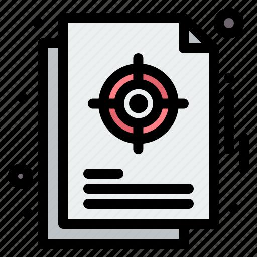 chart, focus, management, strategic, target icon