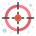 business, management, target icon
