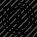 icon, line, fund