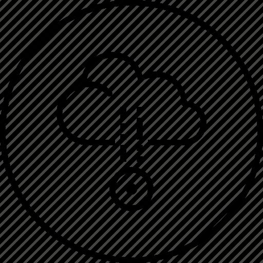 cloud, computing, network icon