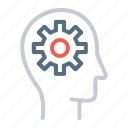 gear, setting, user icon