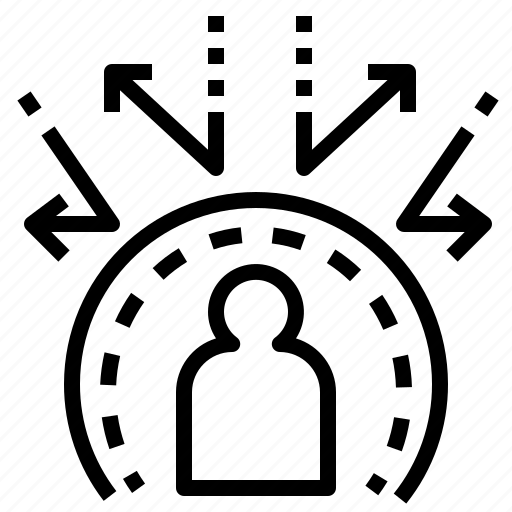 barrier, ineffective, powerless, protect, reflect icon