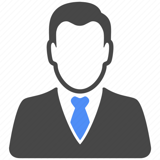 avatar, businessman, man, manager, people, profile, user icon