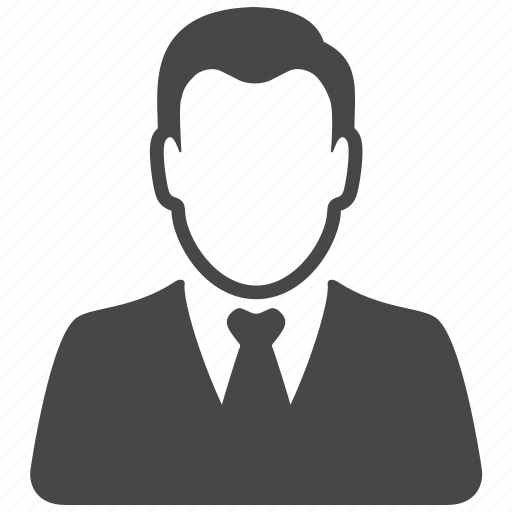 Profile, manager, user, account, client, avatar, man icon