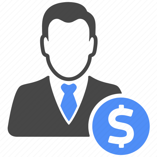 Manager, profile, user, business, dollar, finance, money icon - Download on Iconfinder