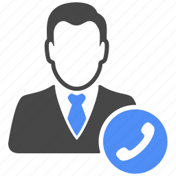 avatar, business, call, contact, manager, profile, user icon