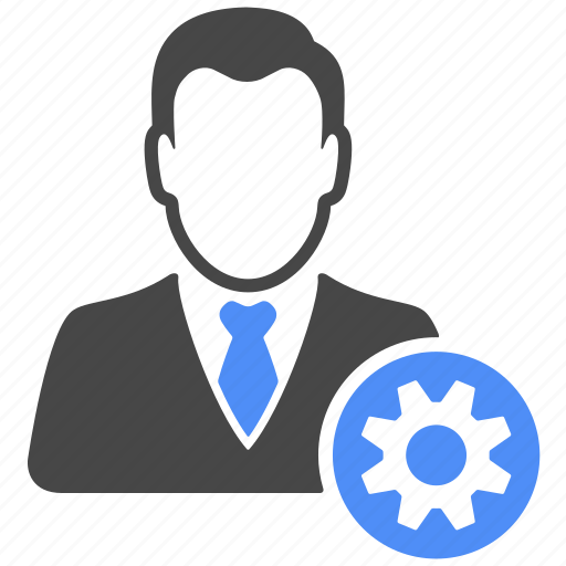 avatar, business, gear, manager, profile, setting, user icon