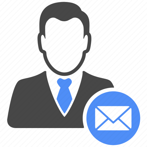 avatar, email, mail, manager, message, profile, user icon