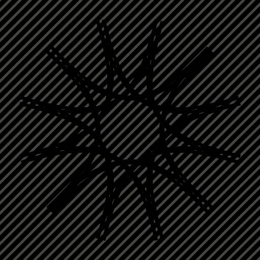 flower, indian, mandala, monogram, orient, round ornament, yoga icon