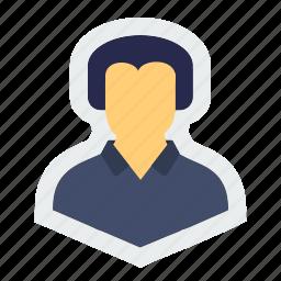 avatar, human, man, people, person, profile icon